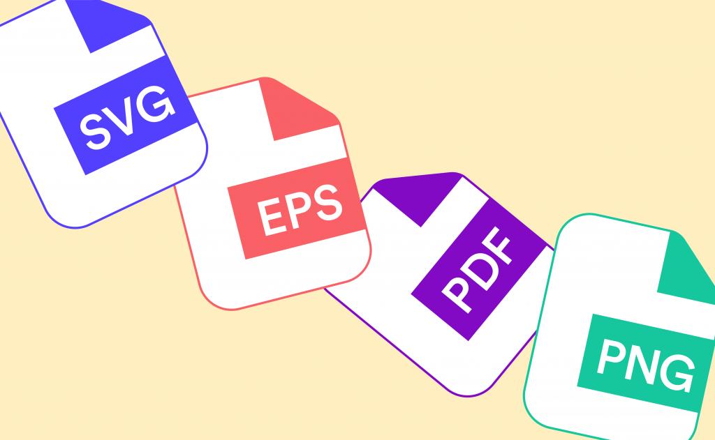 Tipos de arquivos dos logos