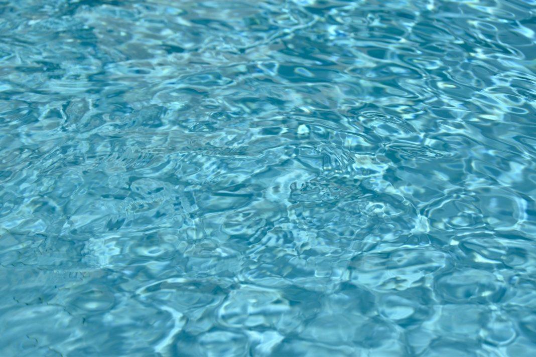 Fundo Azul piscina